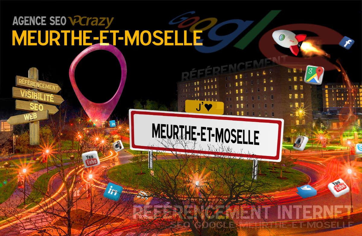 Référencement Internet Meurthe-et-Moselle