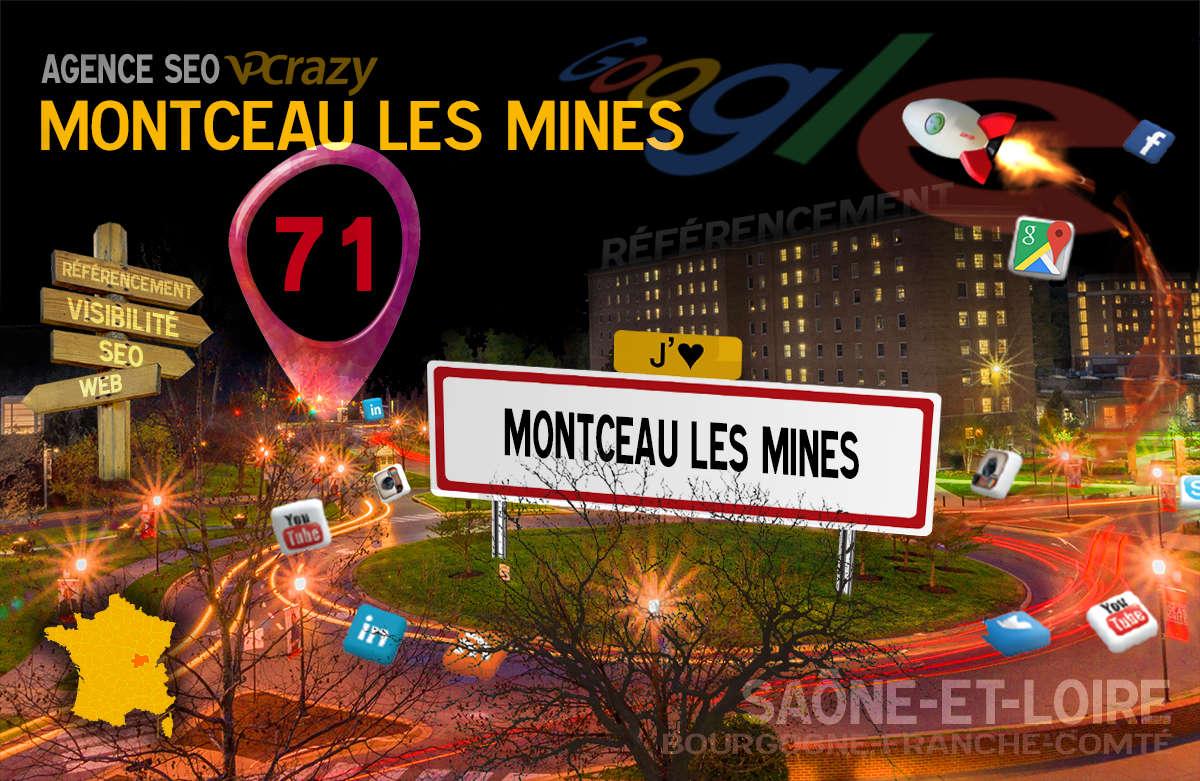 Référencement Internet Montceau-les-Mines