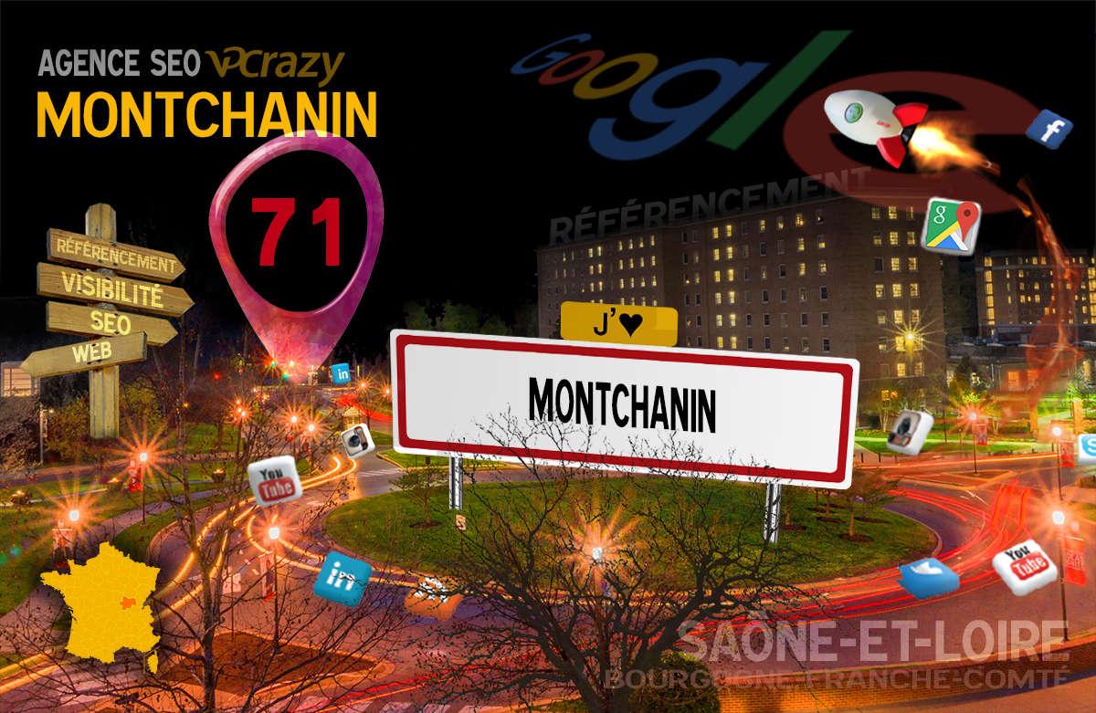 Référencement Internet Montchanin