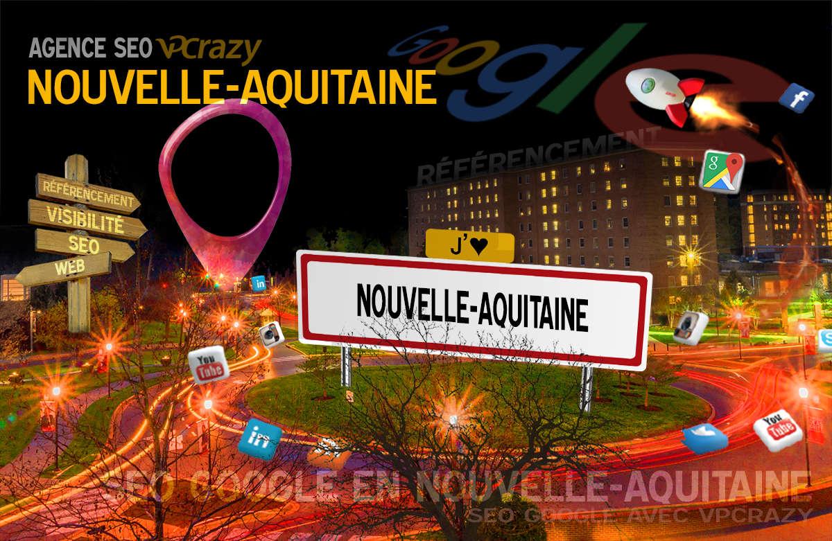Référencement Internet Nouvelle-Aquitaine