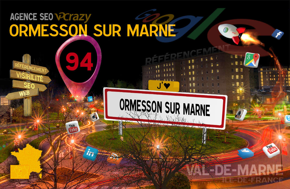 Référencement Internet Ormesson-sur-Marne