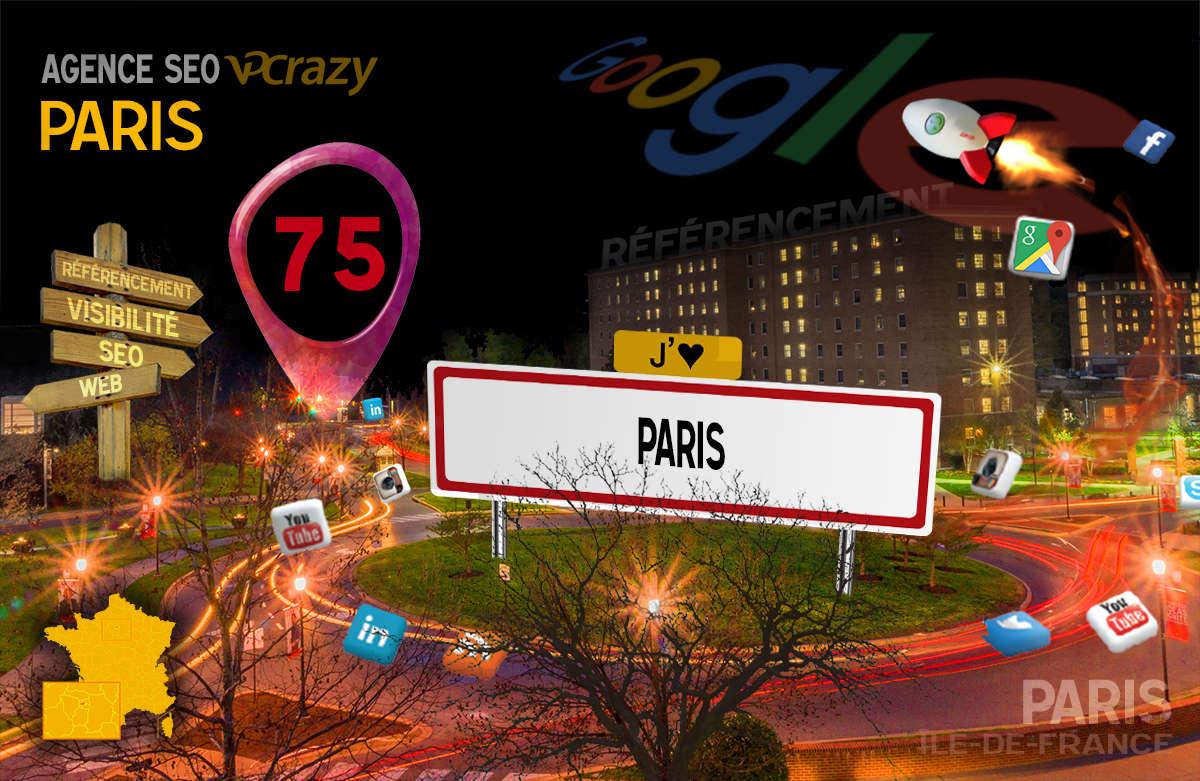Référencement Internet Paris