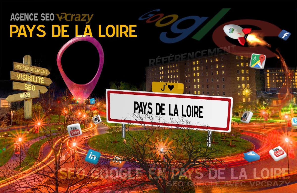 Référencement Internet Pays de la Loire