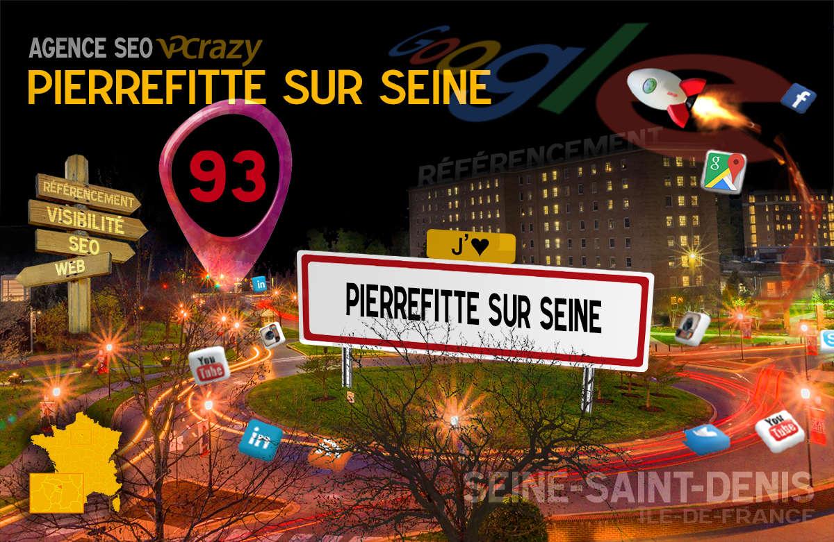 Référencement Internet Pierrefitte-sur-Seine