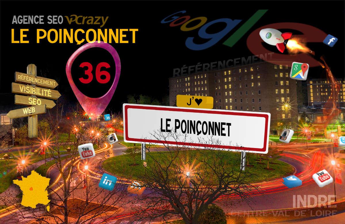 Référencement Internet Le Poinçonnet