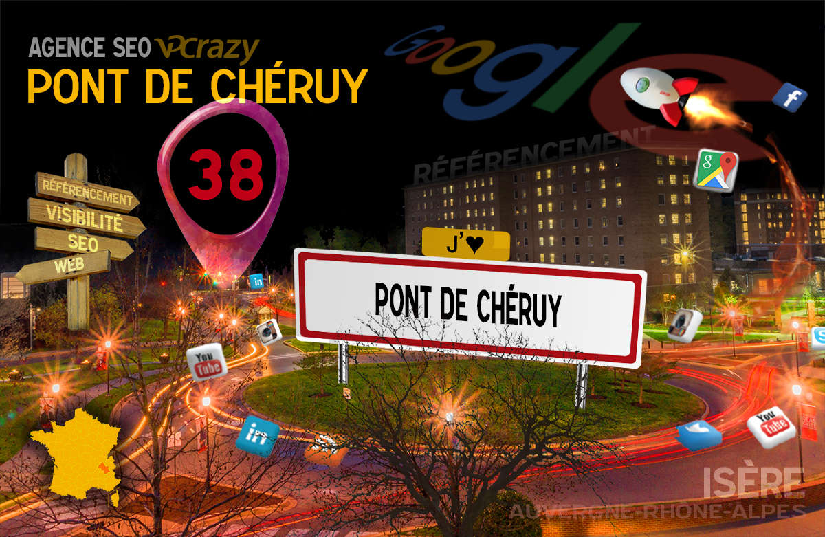 Référencement Internet Pont-de-Chéruy