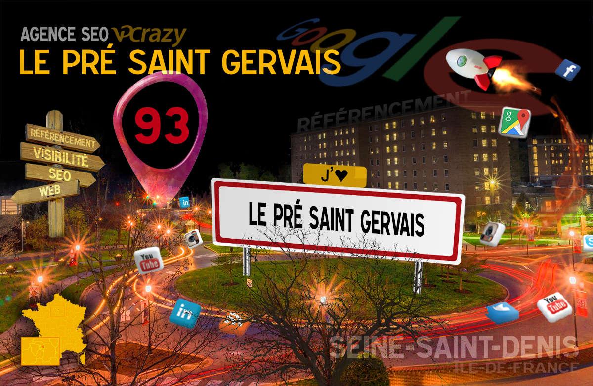 Référencement Internet Le Pré-Saint-Gervais