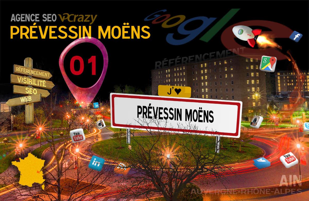 Référencement Internet Prévessin-Moëns
