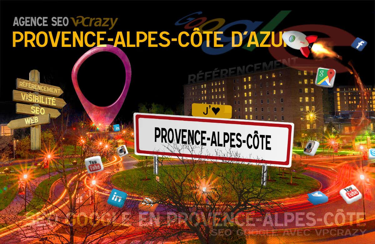 Référencement Internet Provence-Alpes-Côte d'Azur