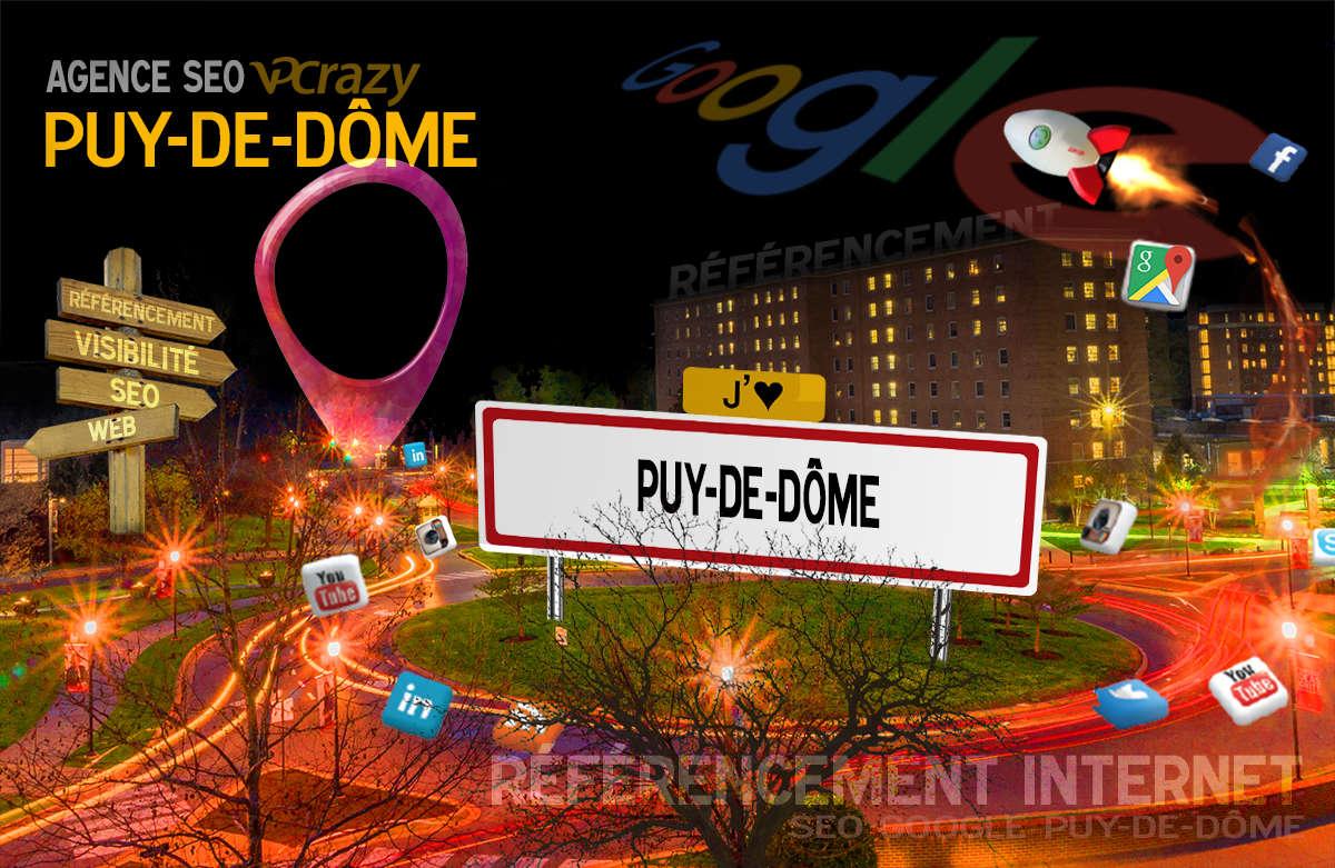 Référencement Internet Puy-de-Dôme