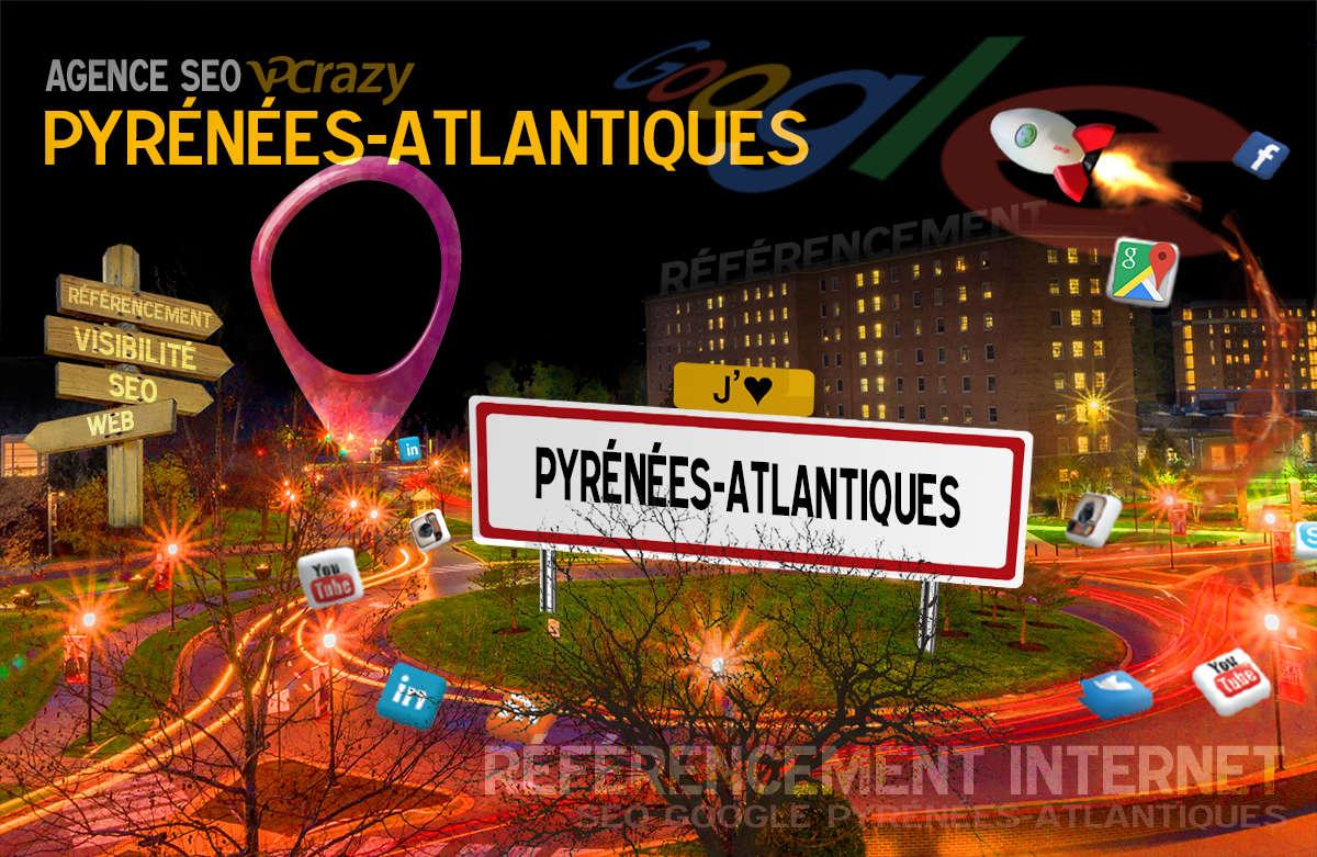 Référencement Internet Pyrénées-Atlantiques