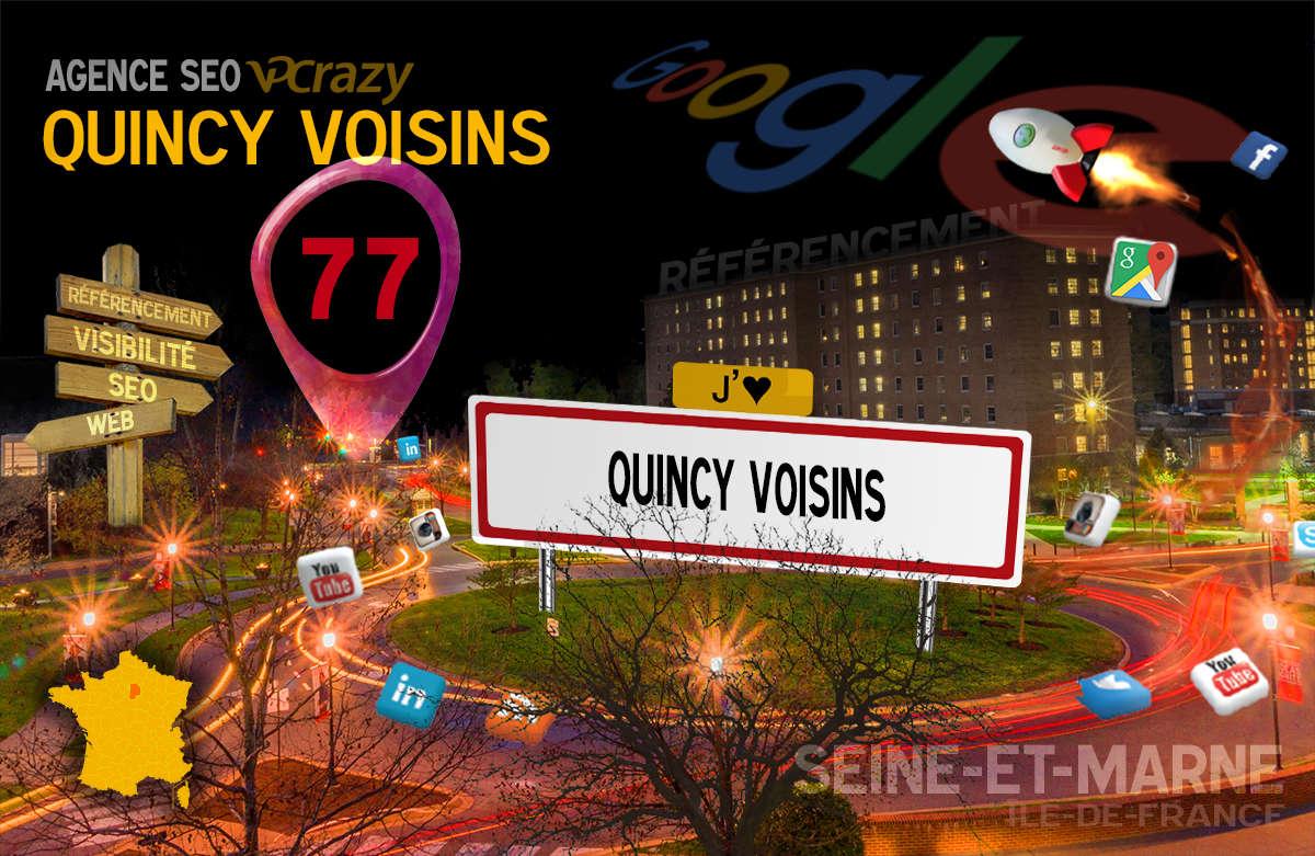 Référencement Internet Quincy-Voisins