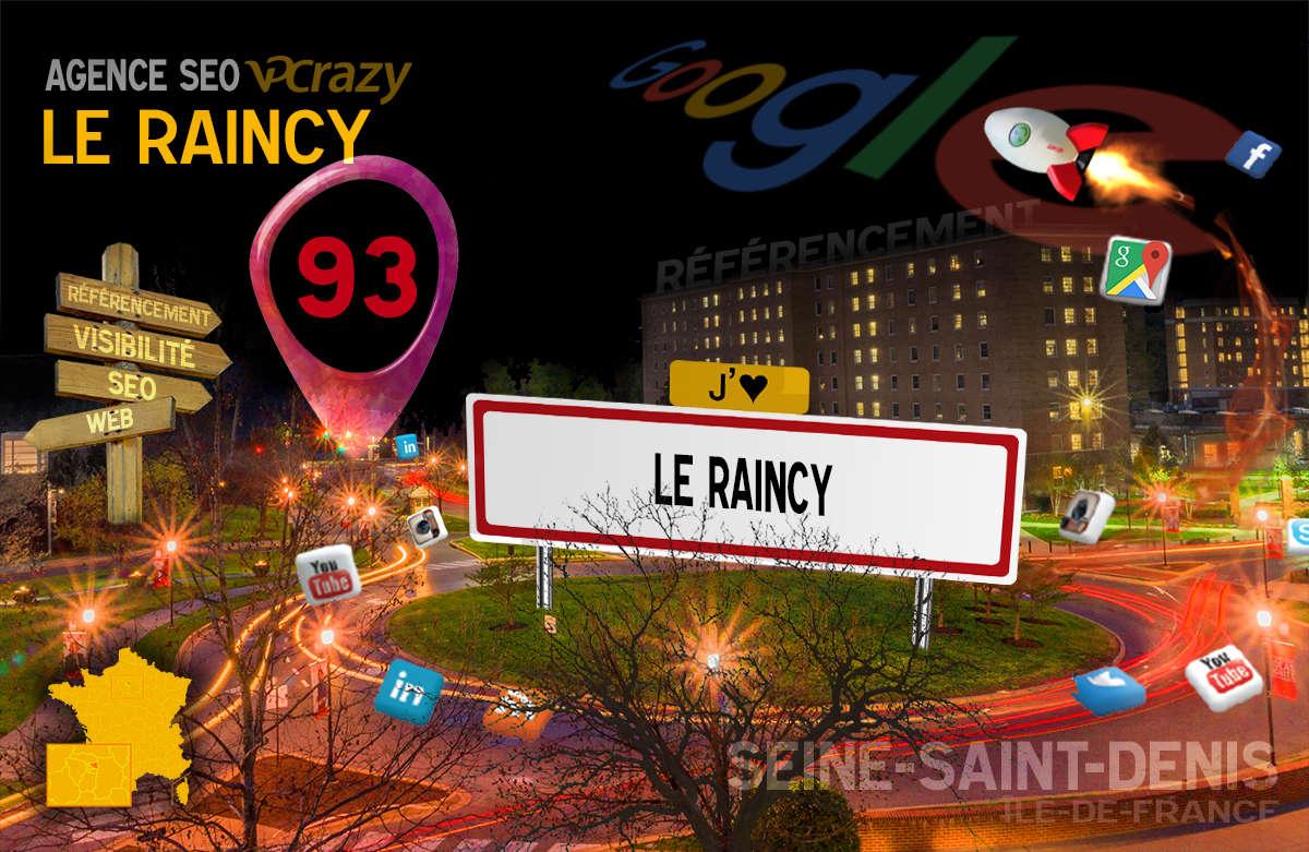 Référencement Internet Le Raincy