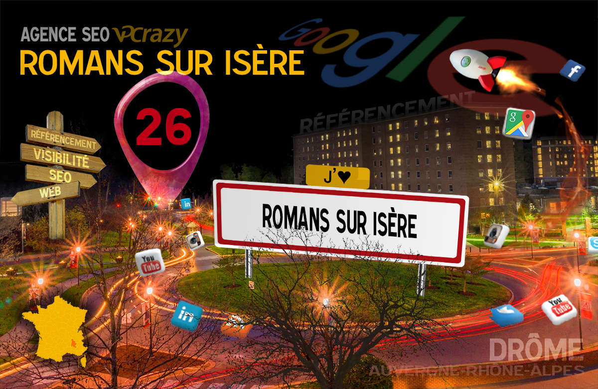 Référencement Internet Romans-sur-Isère