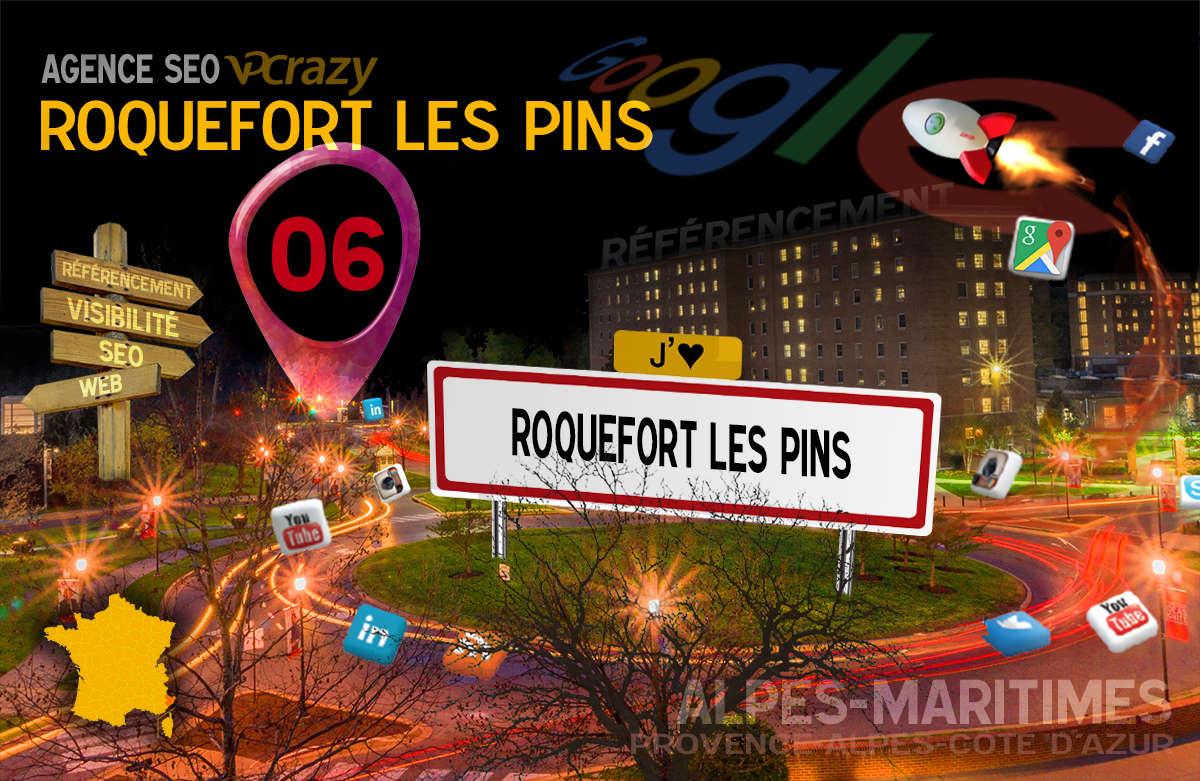 Référencement Internet Roquefort-les-Pins