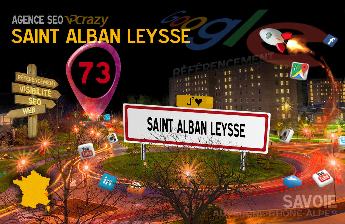 Référencement Internet Saint-Alban-Leysse