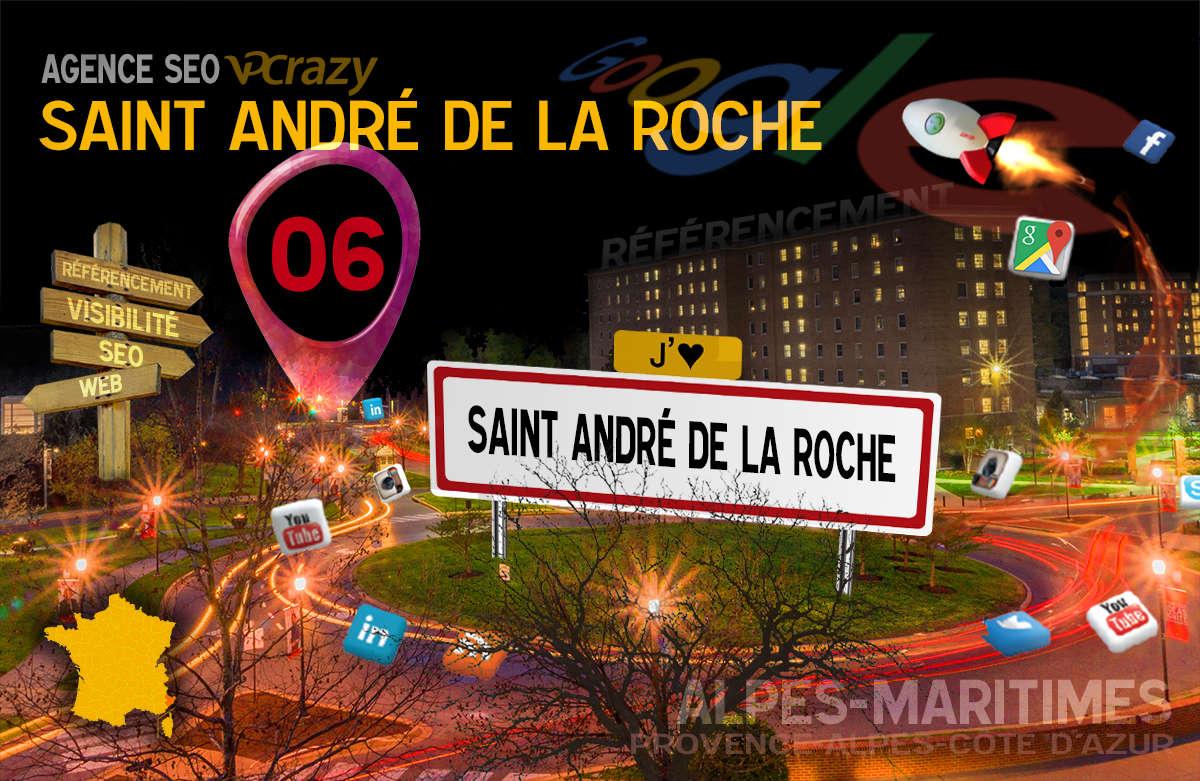 Référencement Internet Saint-André de la Roche