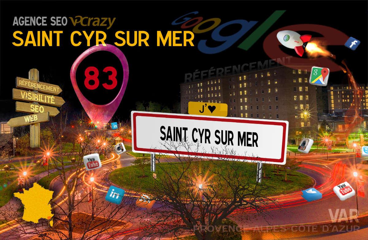Référencement Internet Saint-Cyr-sur-Mer