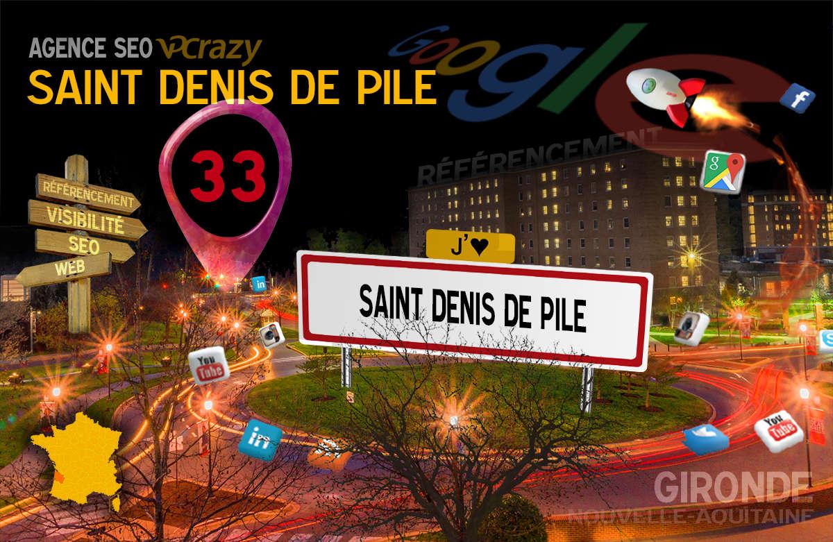 Référencement Internet Saint-Denis-de-Pile