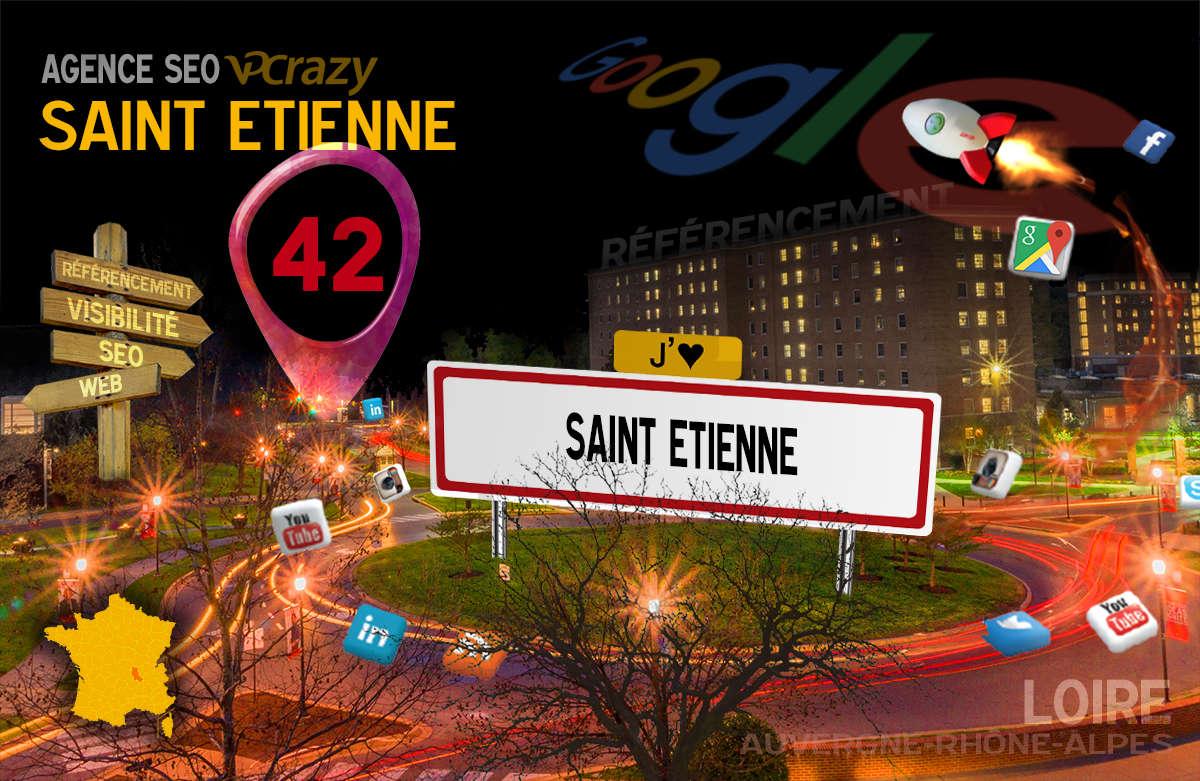 Référencement Internet Saint-Etienne