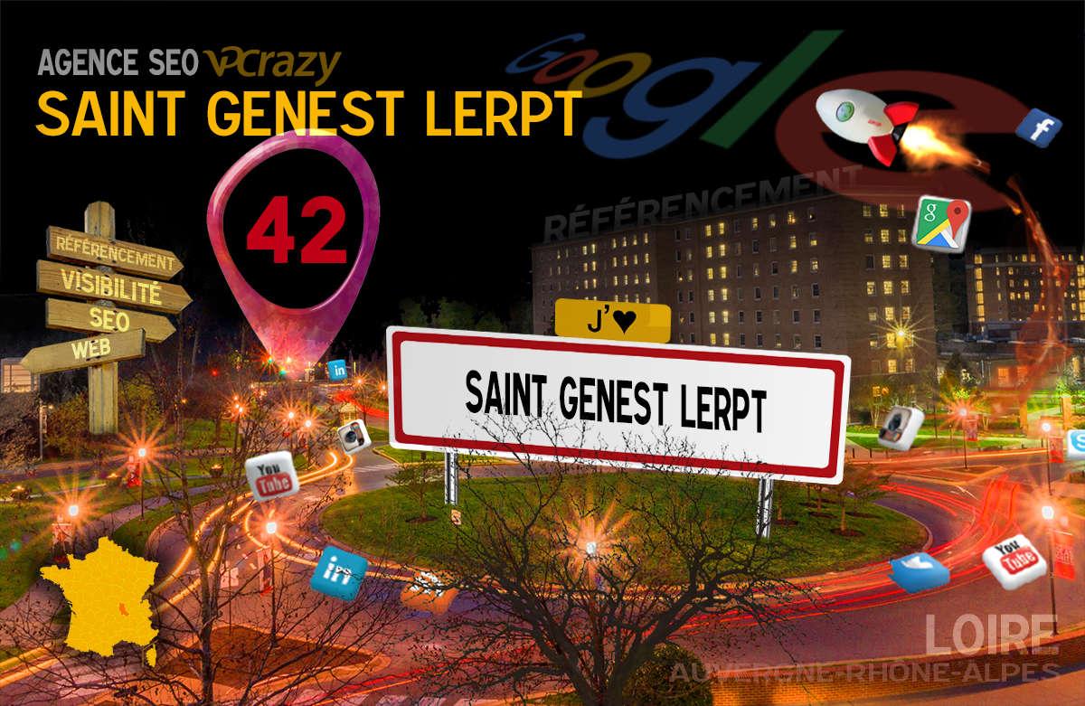 Référencement Internet Saint-Genest-Lerpt