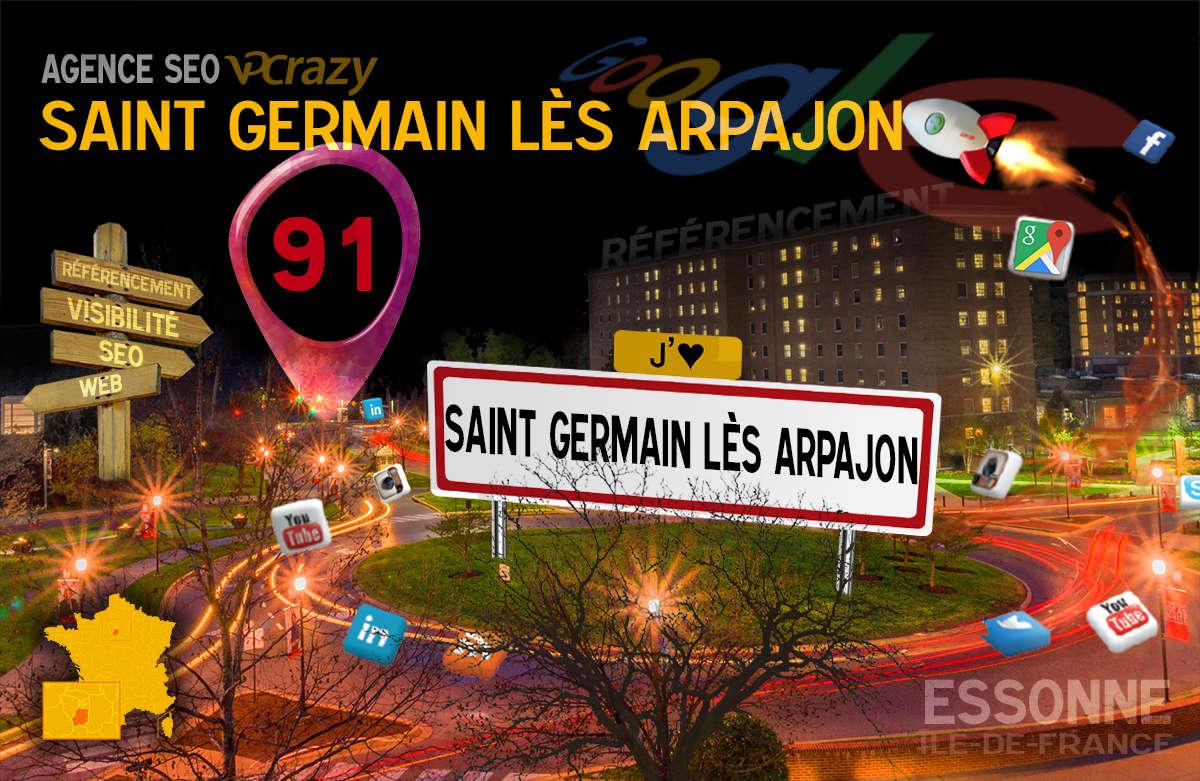 Référencement Internet Saint-Germain-lès-Arpajon