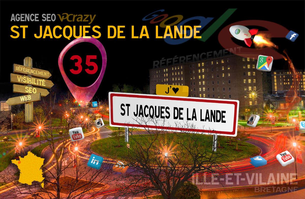 Référencement Internet Saint-Jacques-de-la-Lande