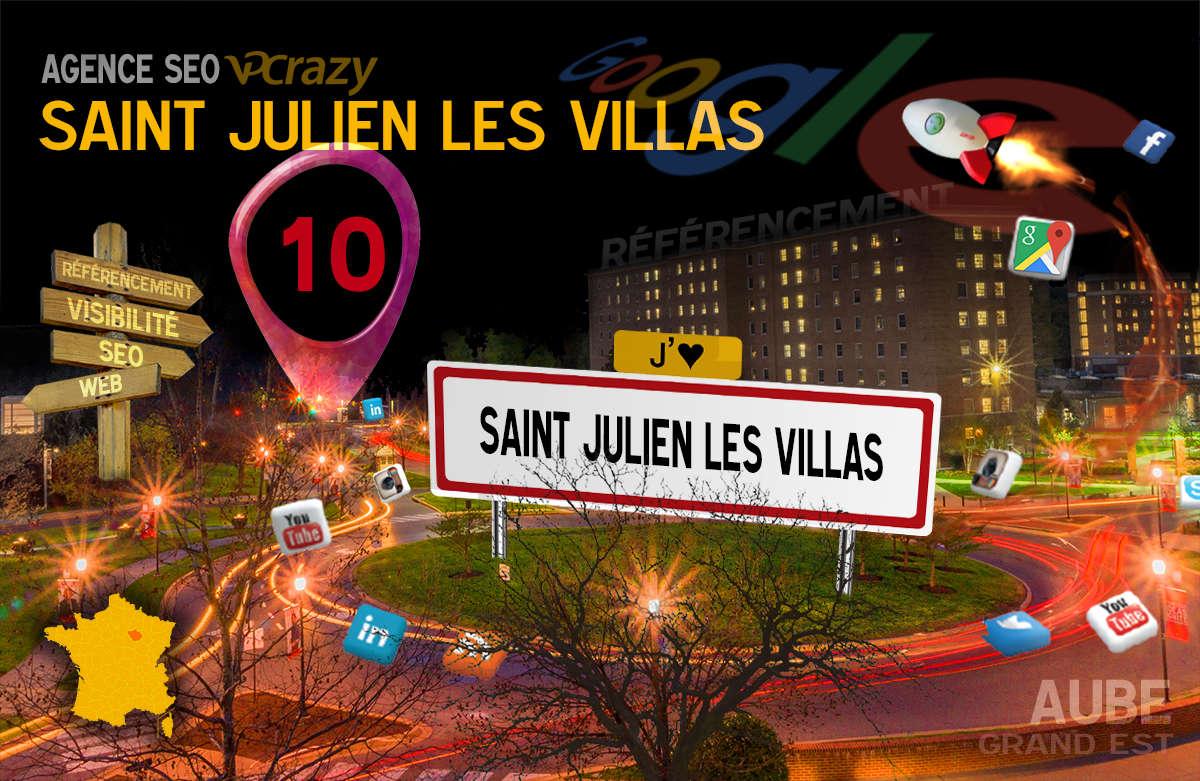 Référencement Internet Saint-Julien-les-Villas
