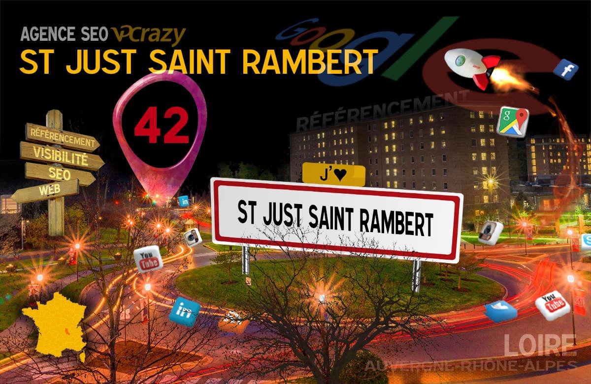 Référencement Internet Saint-Just-Saint-Rambert