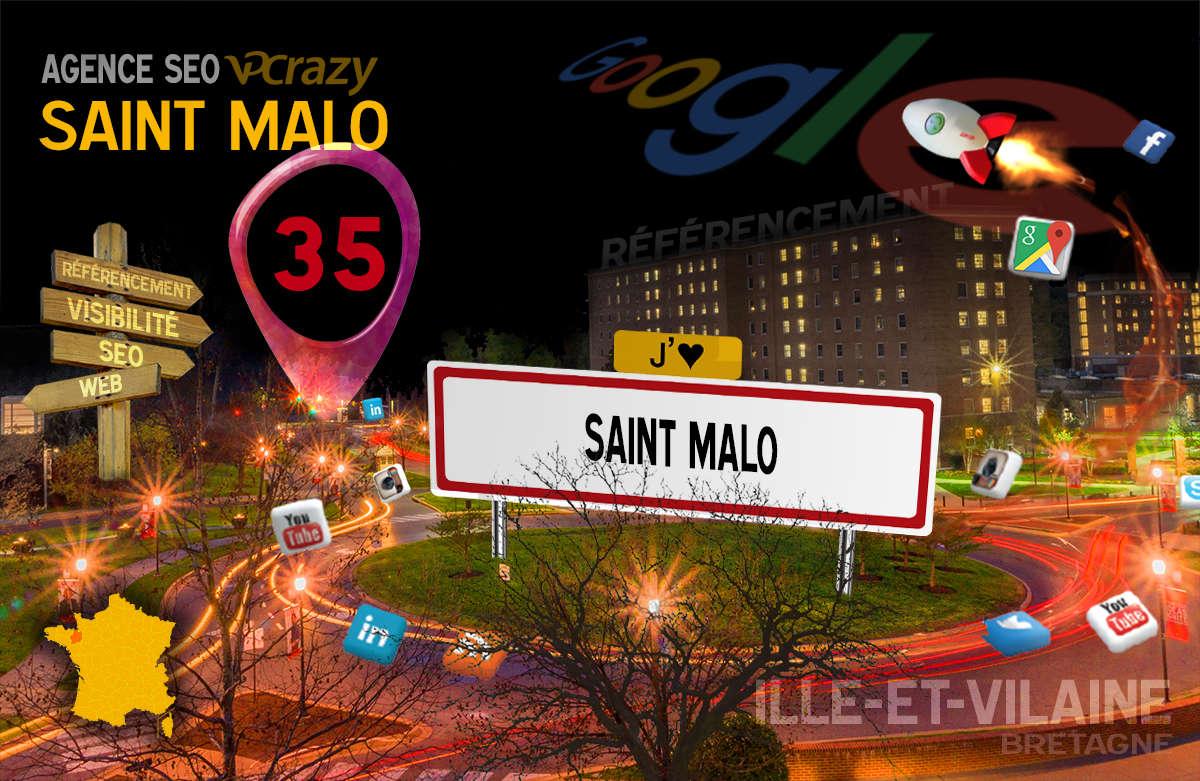 Référencement Internet Saint-Malo