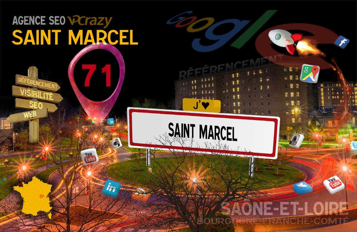Référencement Internet Saint-Marcel