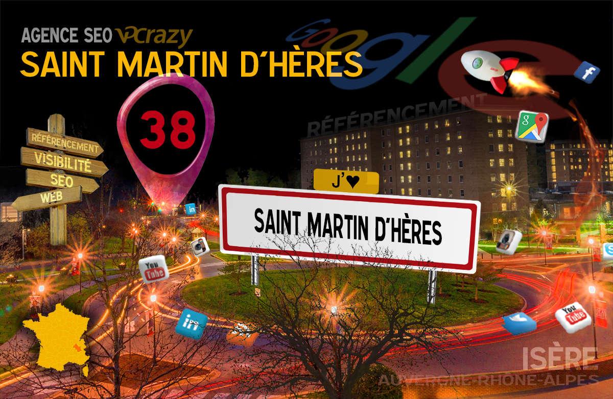 Référencement Internet Saint-Martin-d'Hères