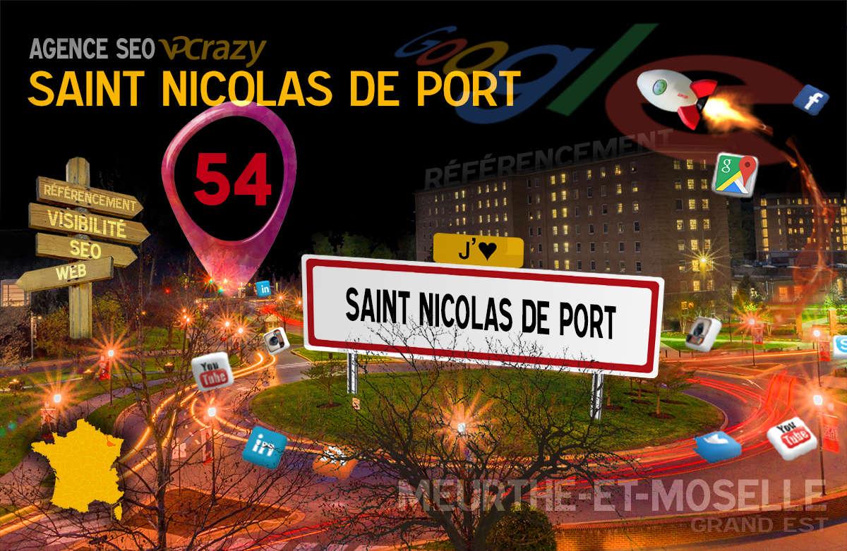 Référencement Internet Saint-Nicolas-de-Port