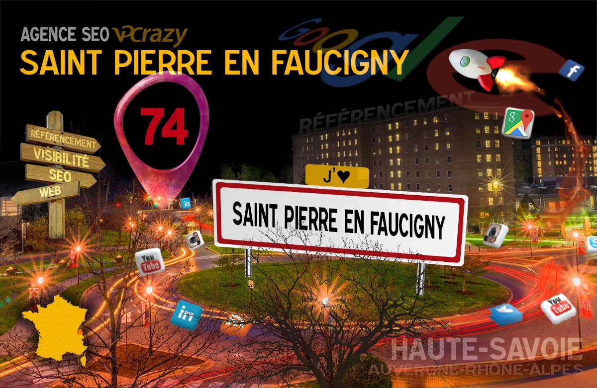 Référencement Internet Saint-Pierre-en-Faucigny