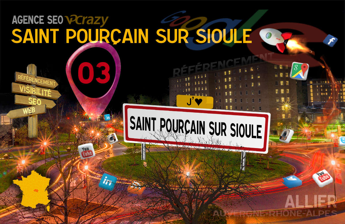 Référencement Internet Saint-Pourçain-sur-Sioule