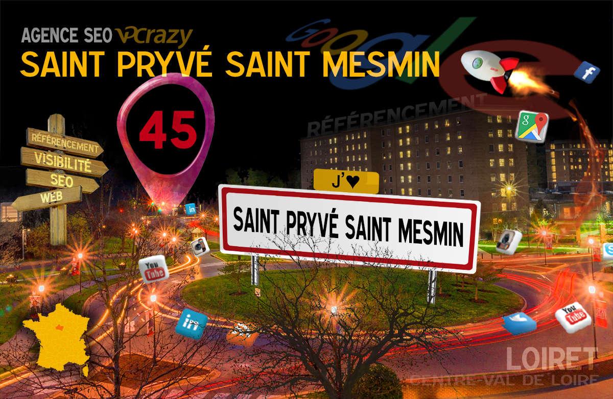 Référencement Internet Saint-Pryvé-Saint-Mesmin