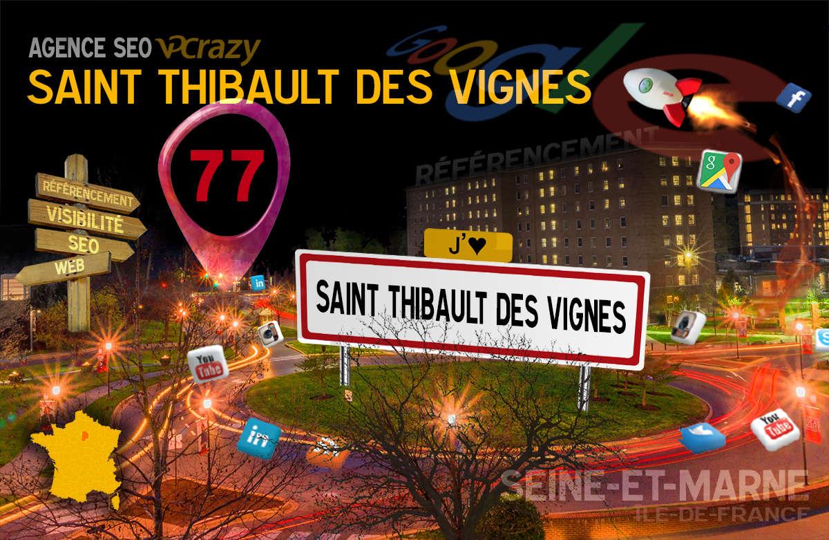 Référencement Internet Saint-Thibault-des-Vignes
