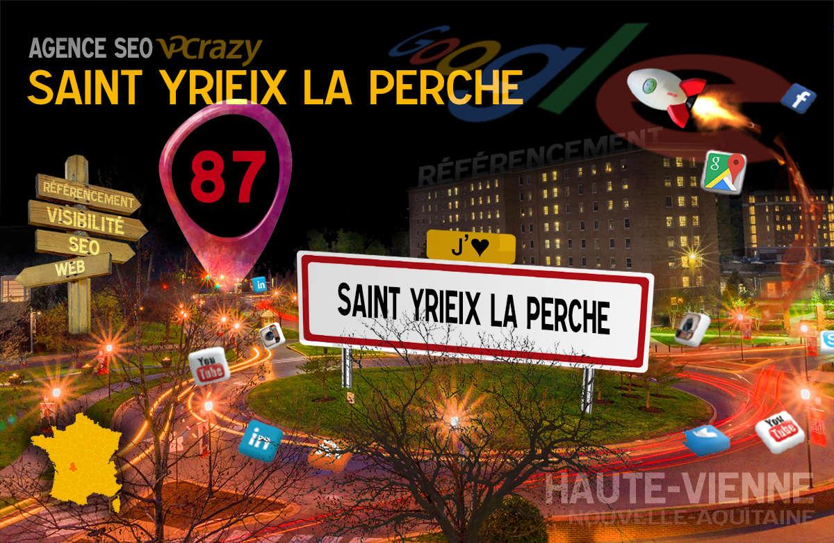 Référencement Internet Saint-Yrieix-la-Perche