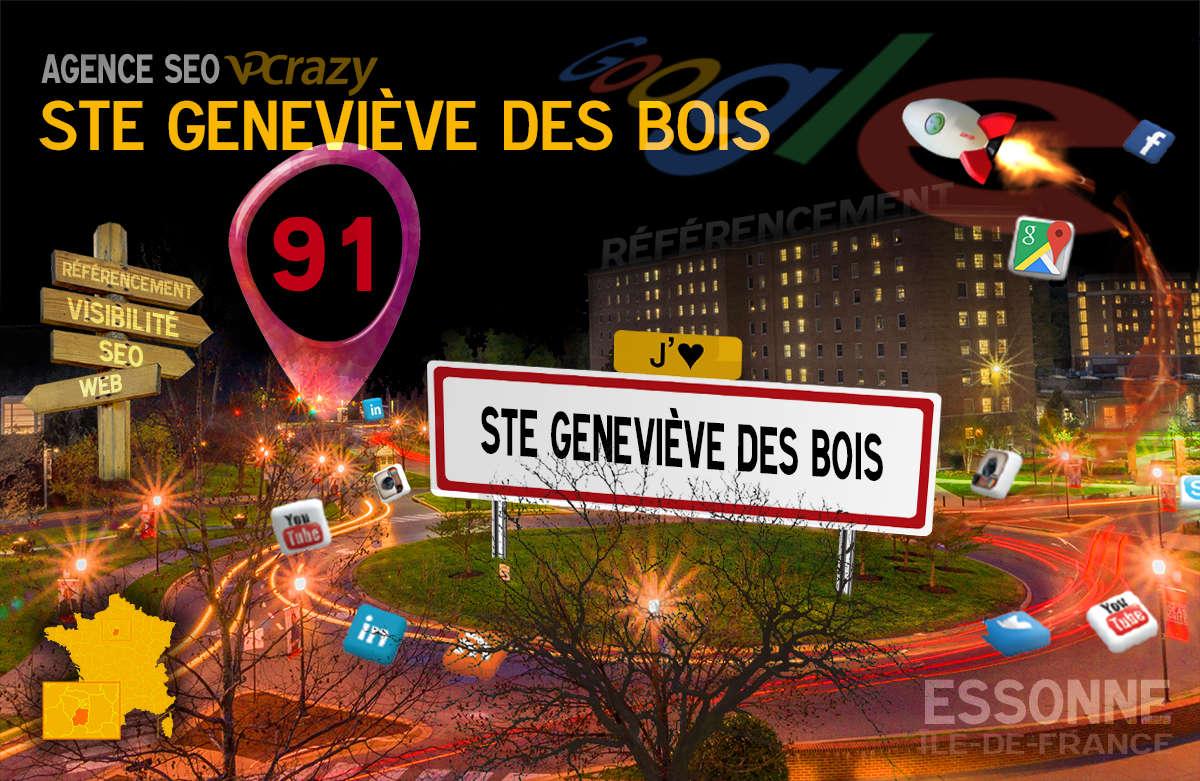 Référencement Internet Ste-Geneviève-des-Bois