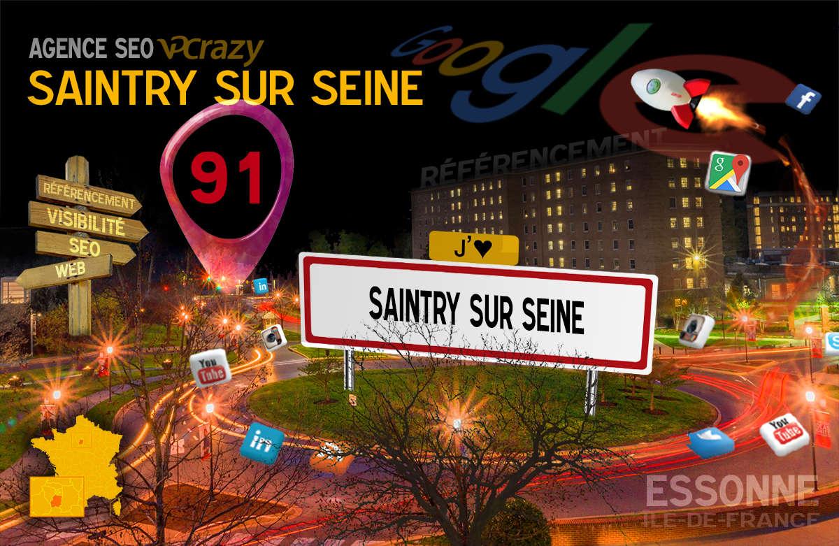 Référencement Internet Saintry-sur-Seine