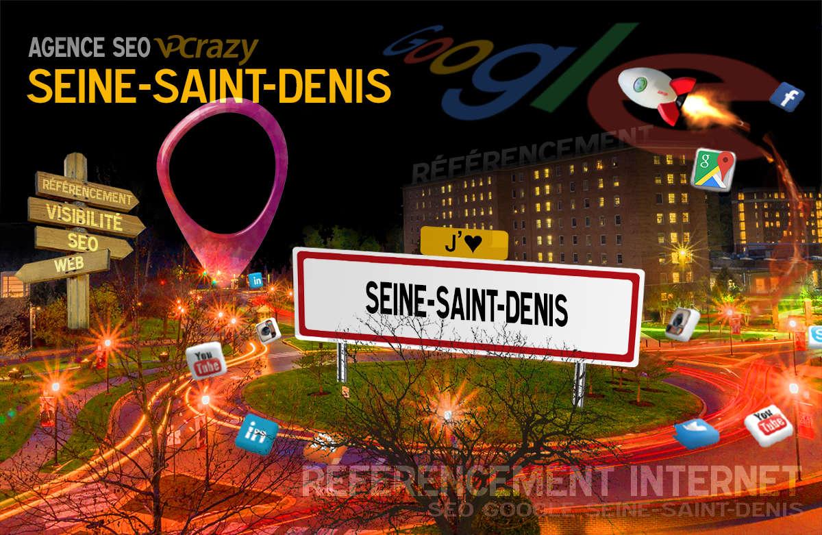 Référencement Internet Seine-Saint-Denis