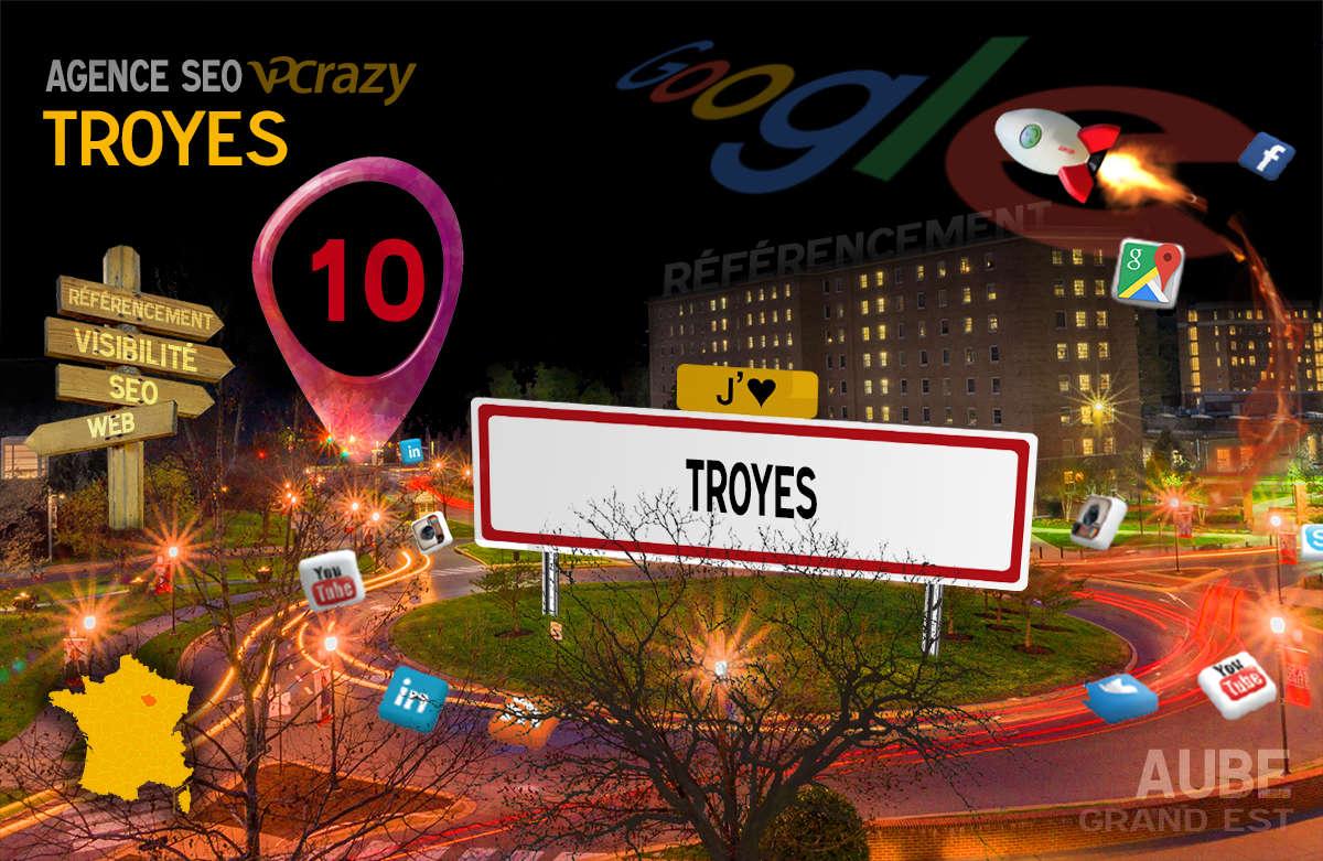 Référencement Internet Troyes