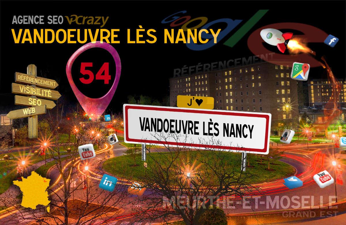 Référencement Internet Vandoeuvre-lès-Nancy