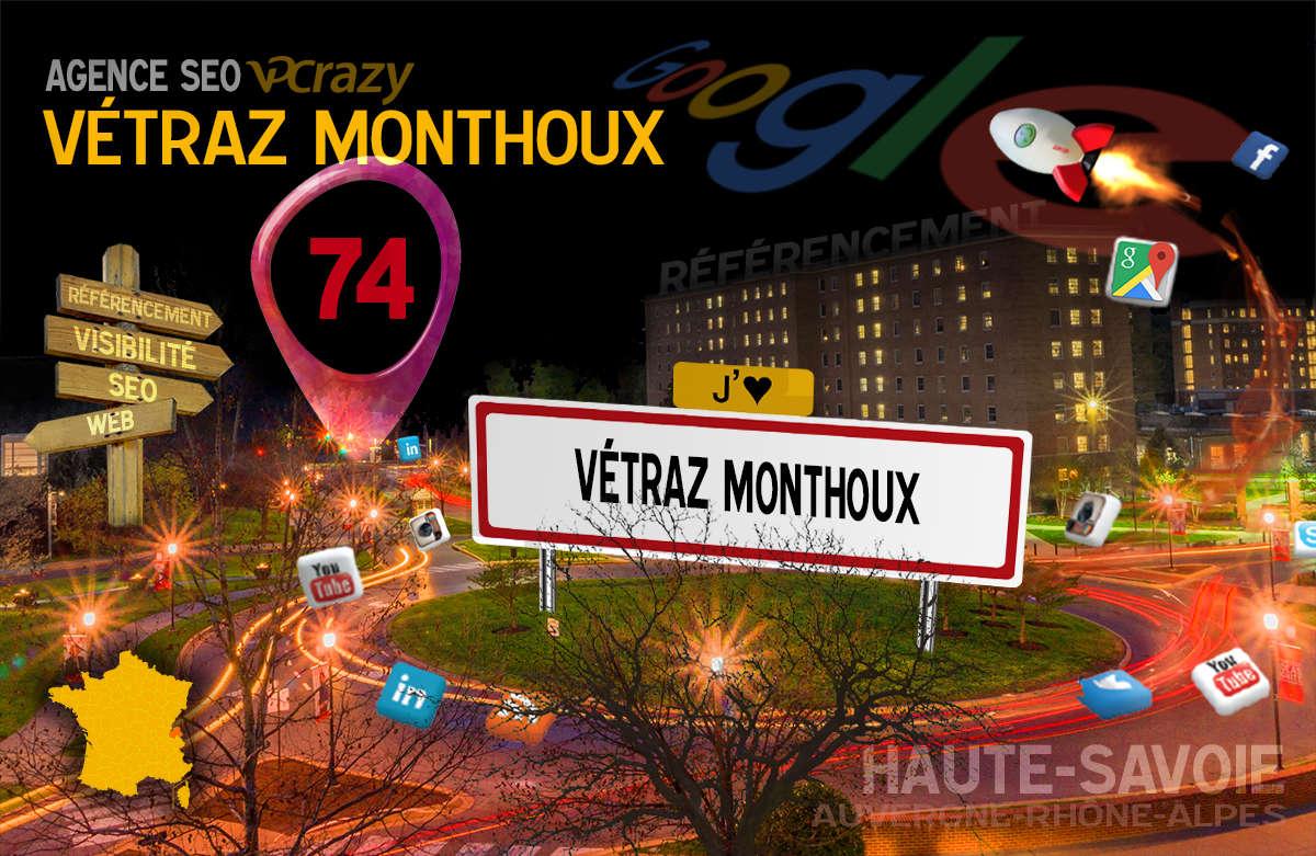 Référencement Internet Vétraz-Monthoux