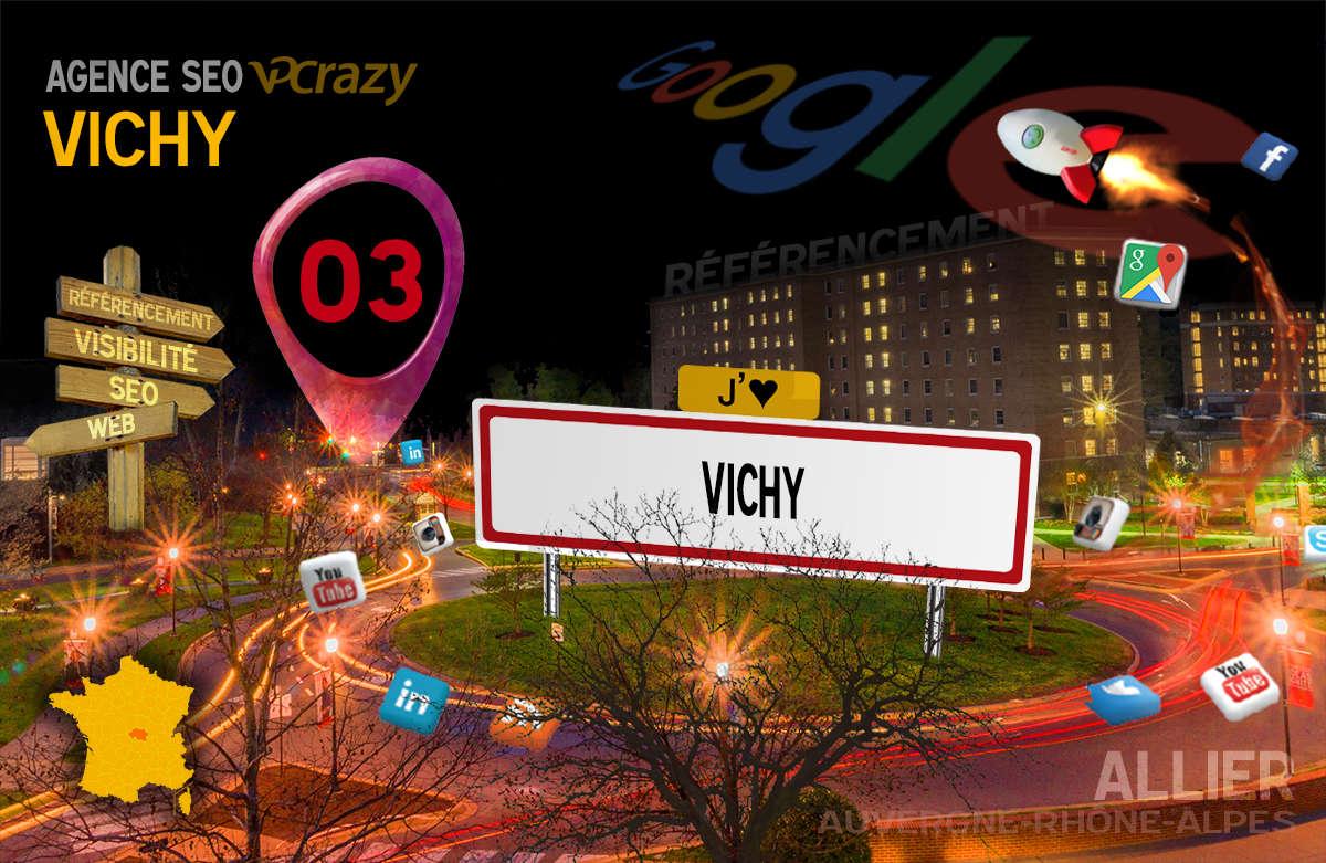 Référencement Internet Vichy