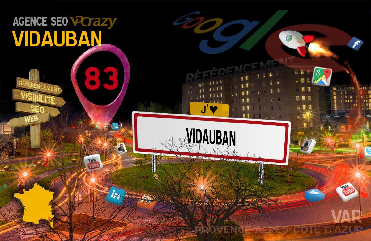 Référencement Internet Vidauban