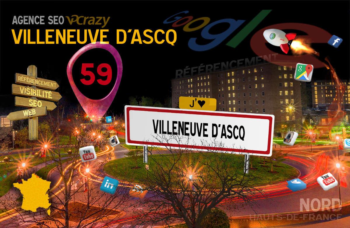 Référencement Internet Villeneuve-d'Ascq