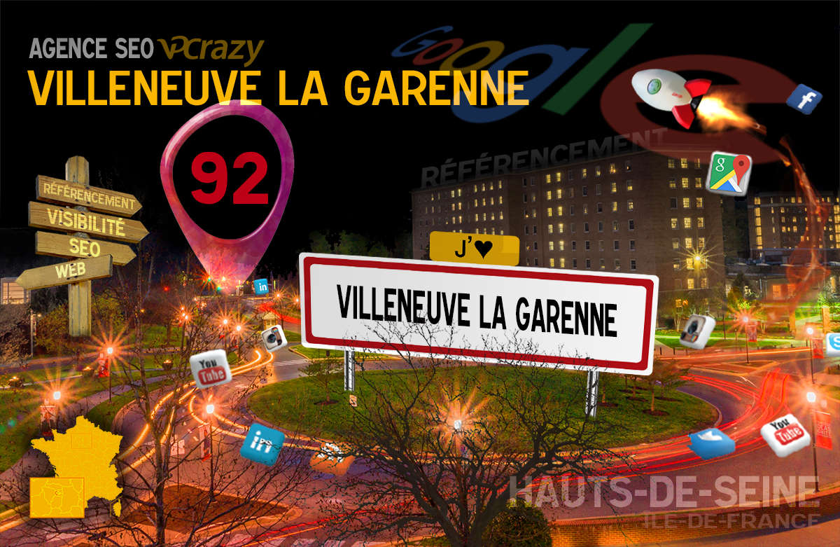 Référencement Internet Villeneuve-la-Garenne