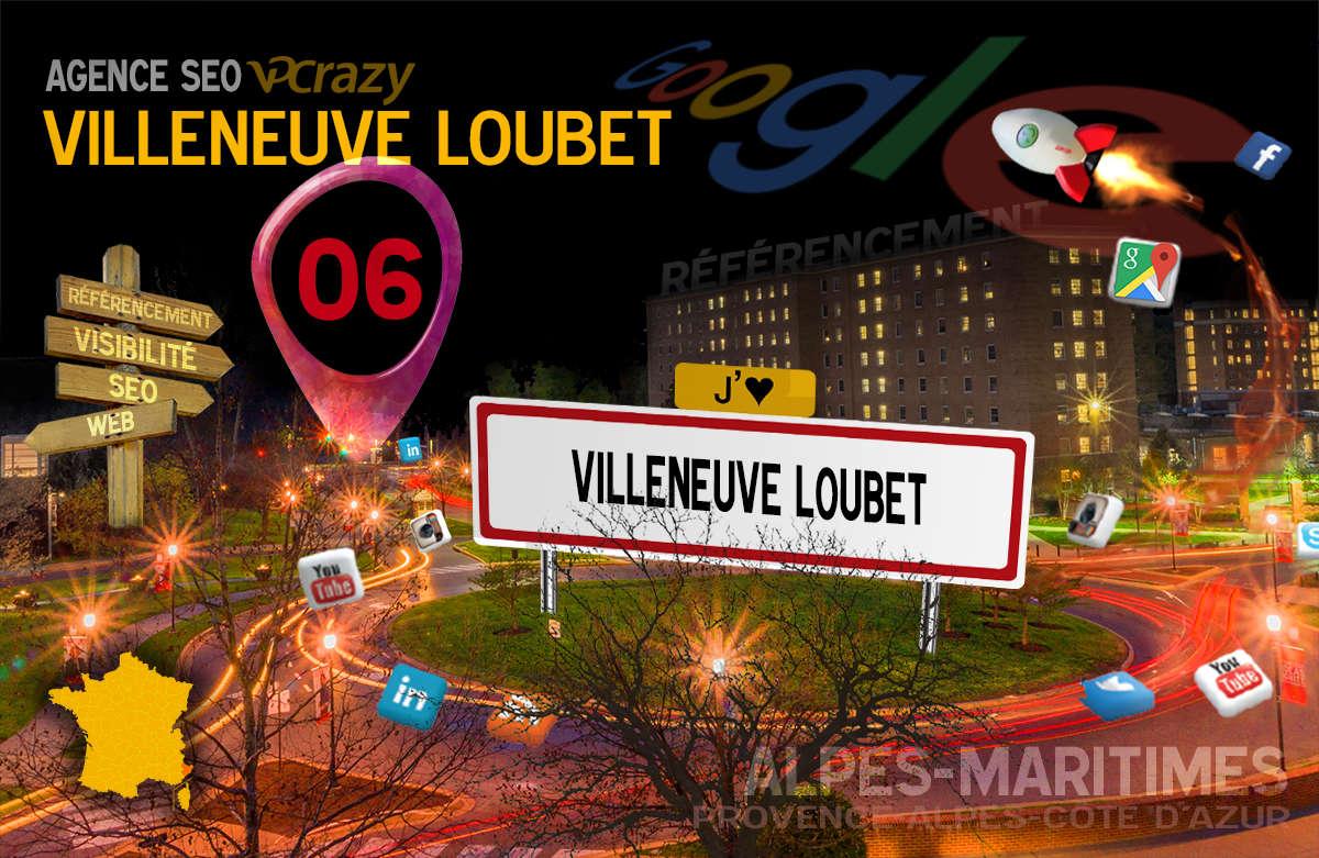 Référencement Internet Villeneuve-Loubet