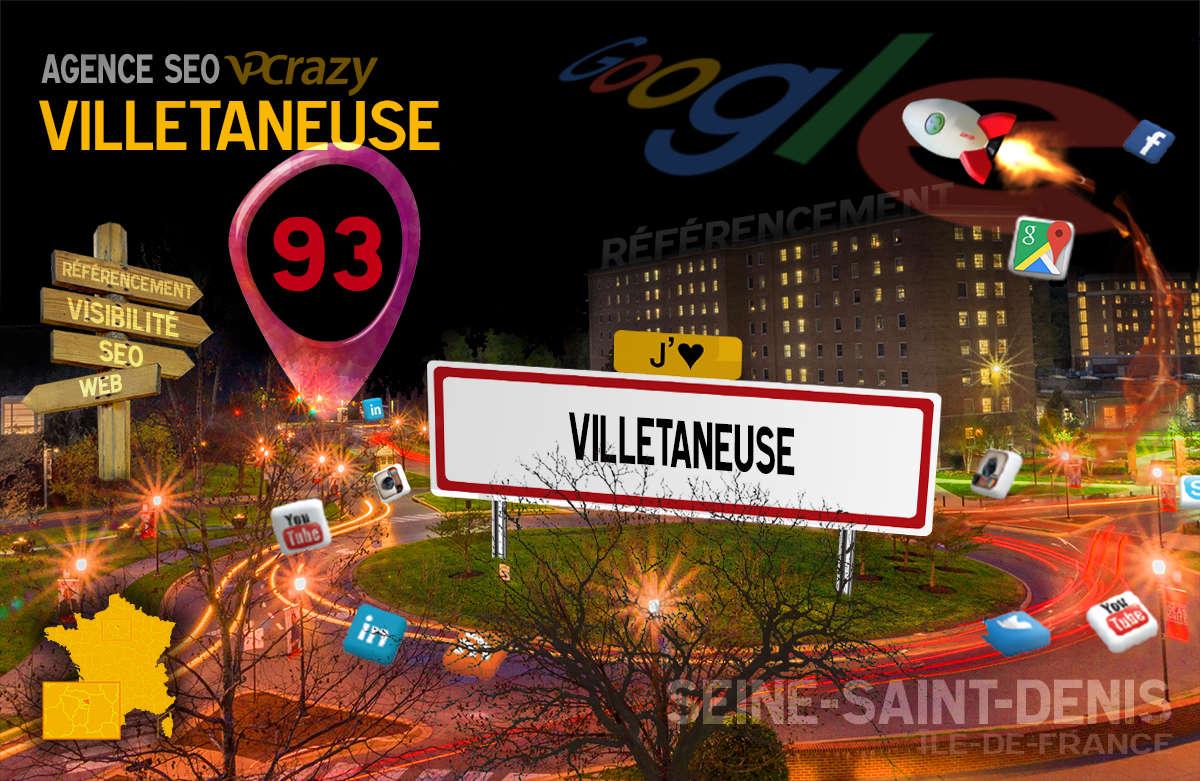 Référencement Internet Villetaneuse